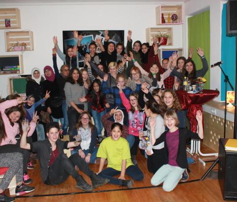 Eröffnungsfest Mädchencafé