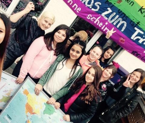 Aktionstage im Mädchencafé