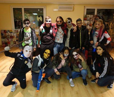 Halloween mit dem Jugendtreff Oase