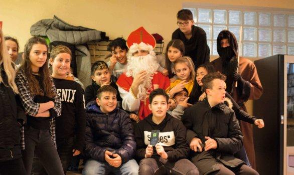 Nikolaus im Jugendtreff Oase