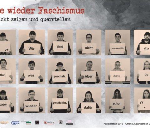 """Aktionstage 2018 """"Nie wieder Faschismus"""""""
