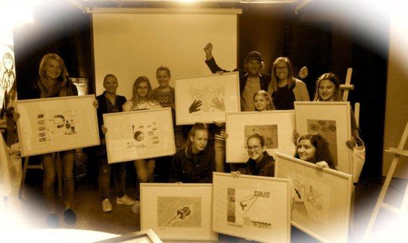 Einige Impressionen von der Preisverleihung – Plakatwettbewerb 2018 im Culture Factor Y Lustenau!