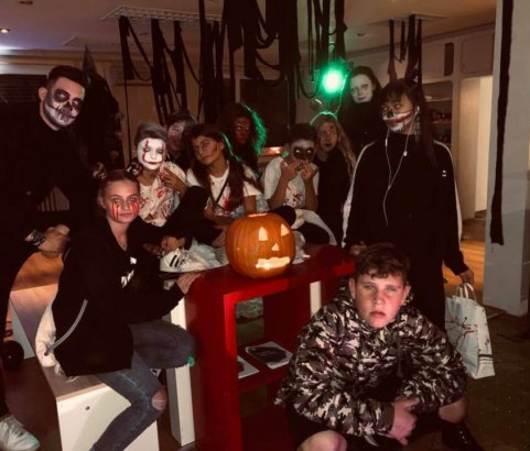 Halloween Party in der Oase