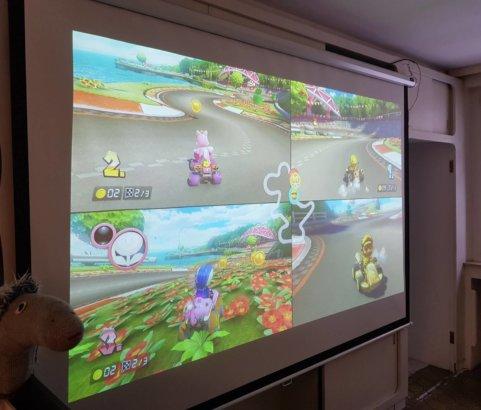 MarioKart-Turnier Jugendtreff Oase