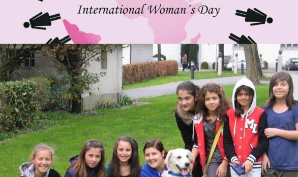 Unser Mädchencafé wünscht allen Mädchen und Frauen heute einen schönen Weltfrauentag!