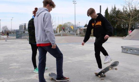 Jugendplatz-Eröffnung