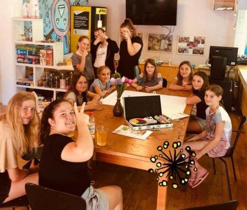 Finanzworkshop im Mädchencafé!