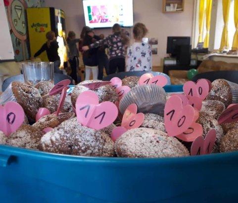 Geburtstagsparty im Mädchencafé!