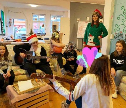 Weihnachtsfeier Mädchencafe