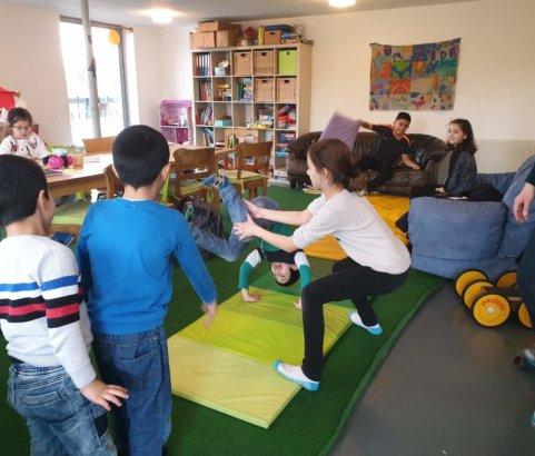 Sport in der HG-Siedlung