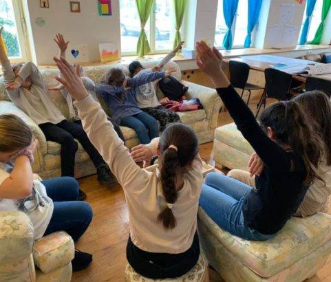 Klipp & Klar Workshop im Mädchencafé