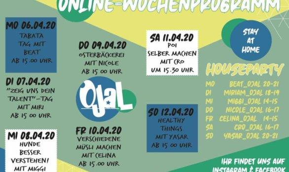 Das virtuelle Jugendhaus - Woche 2