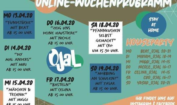 Das virtuelle Jugendhaus - Woche 3
