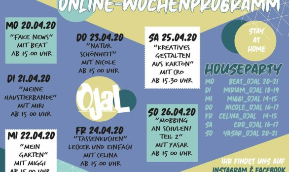 Das virtuelle Jugendhaus - Woche 4