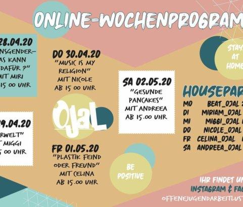 Das virtuelle Jugendhaus - Woche 5