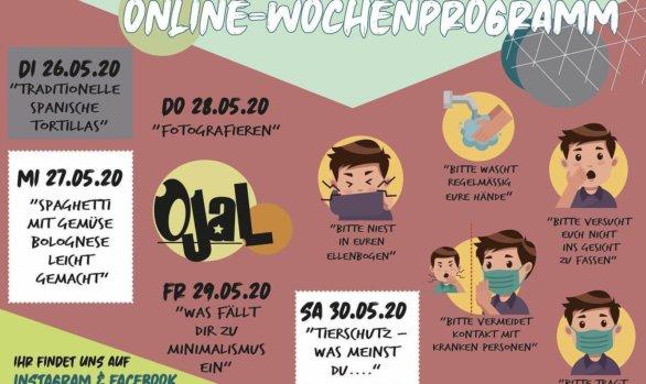 Das virtuelle Jugendhaus - Woche 9