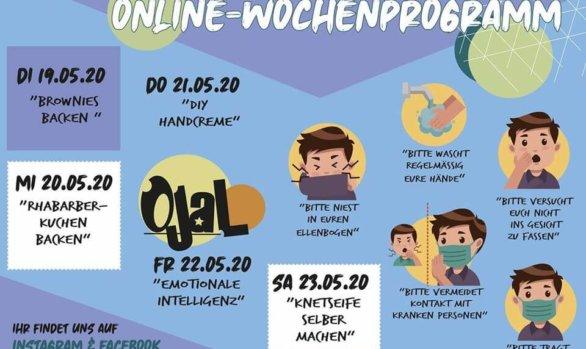 Das virtuelle Jugendhaus - Woche 8