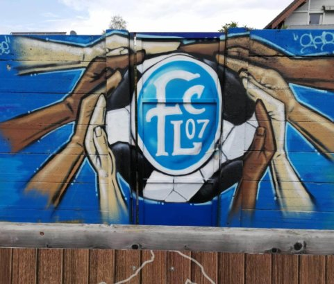 Graffitiworkshop mit dem FC Lustenau